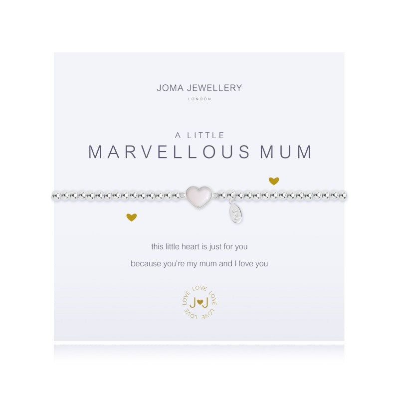 Joma Jewellery - A little Marvellous Mum Bracelet - Blossom Boutique Thornton