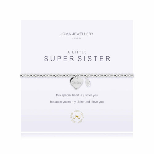 Joma Jewellery - A little Super Sister Bracelet - Blossom Boutique Thornton