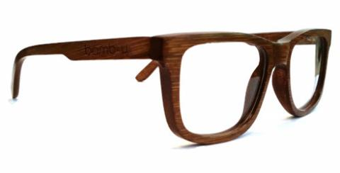 Epsy Walnut by bamb-u, Bamboo Wooden Prescription Ready glasses