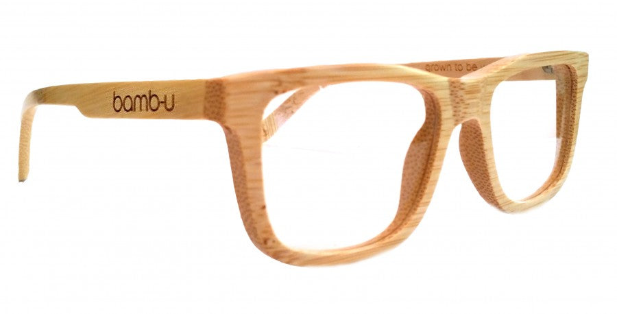 Espy Natural by bamb-u, Bamboo Wooden Prescription Ready glasses