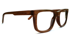 Espy Walnut by bamb-u, Bamboo Wooden Prescription Ready glasses