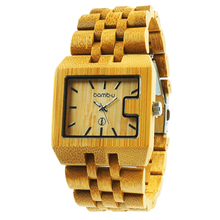 Husky by bamb-u, Men's bamboo wooden watch