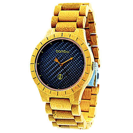Lanta Neon Bamboo Watch