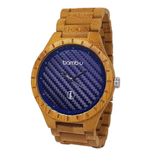 Nova, by bamb-u, Men's bamboo wooden watch