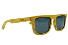 Sammy T by bamb-u, Bamboo Wooden Floating Sunglasses, carbonised bamboo, stylish design
