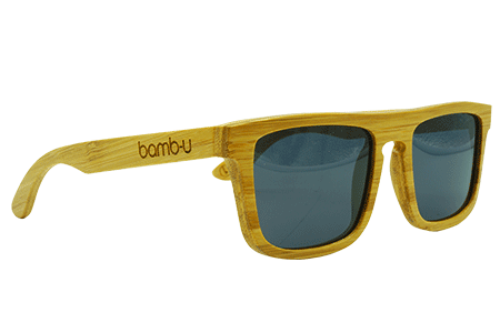 Sammy T by bamb-u, Bamboo Wooden Floating Sunglasses