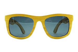 Sandman by bamb-u, Bamboo Wooden Floating Sunglasses, carbonised bamboo, UV-400 lenses