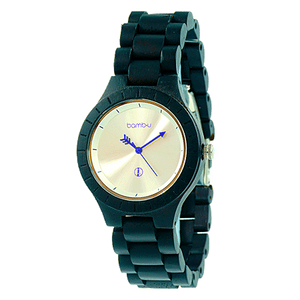 Soho by bamb-u, unisex bamboo wooden watch