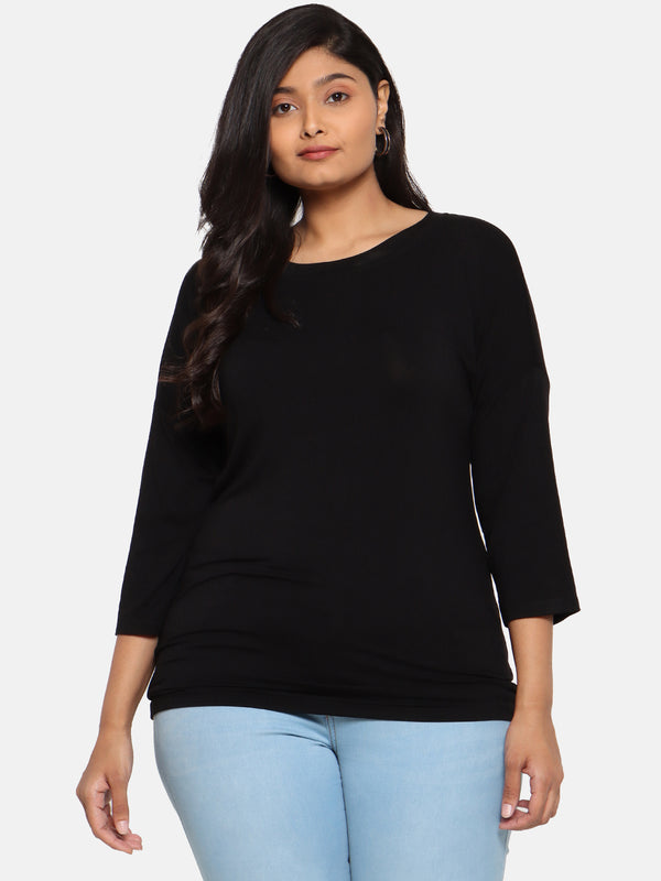Black full sleeves t shirt