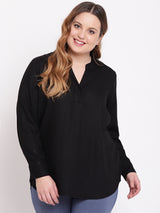 Black Full Sleeve Shirt
