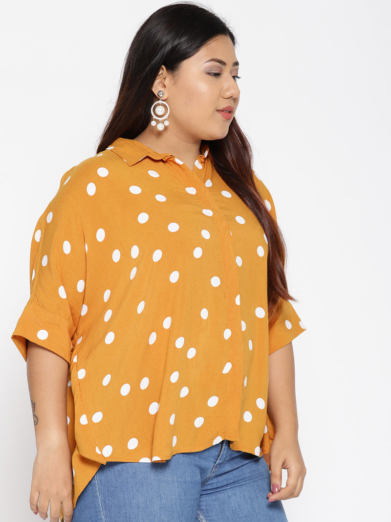 Butterfly sleeve top with color