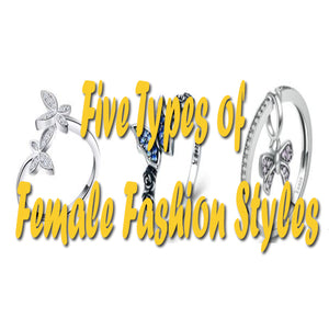 Five Types of Female Fashion Styles