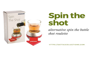 Spin the shot drinking game - Alternative spin the bottle shot roulette