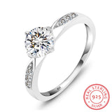 Sattaj Cubic Zircon Engagement Ring