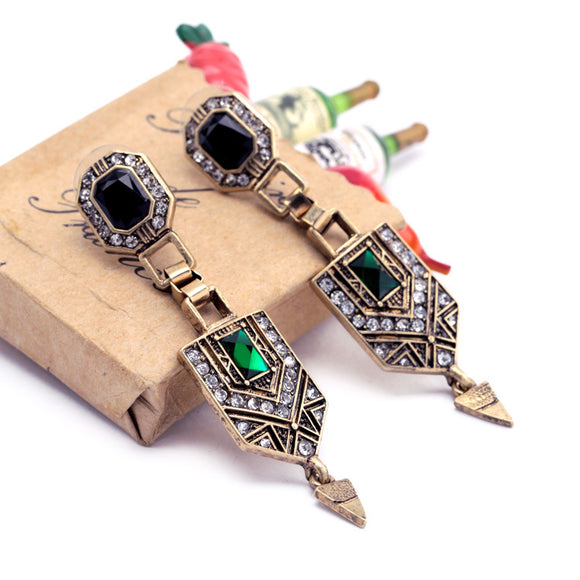 ATHENA 2018 Vintage Elegant Luxury Beautiful Fashion Geometric Earrings