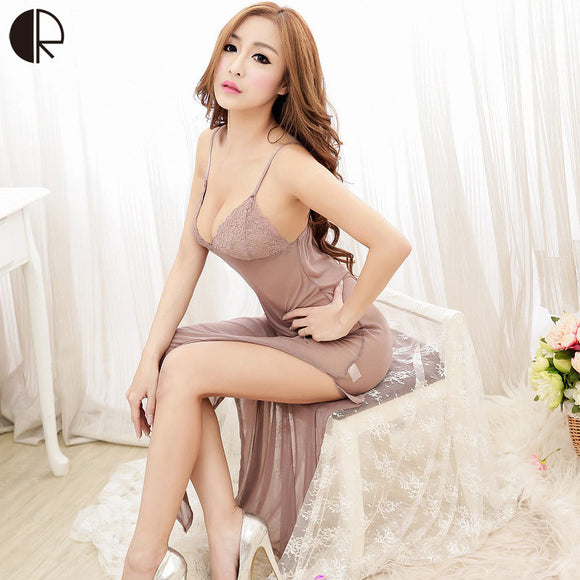 Summer Femal Short Sexy Pijama Sleeveless Strap Strip without Steel Bracket Bra Nightgowns Women Free Shipping AP075