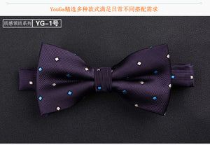SHENNAIWEI High quality 2017 sale Formal commercial wedding butterfly cravat bowtie male marriage bow ties for men business lote