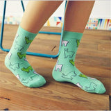 S92 Colour men/women crew cotton socks of happy sock casual harajuku pattern skate designer brand fashion novelty art cool summer