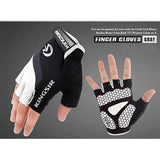 1 Pair Outdoor Sport Gloves Summer Cycling Bike Bicycle Riding Gym Fitness Half Finger Gloves Shockproof Mittens S/M/L/XL/XXL