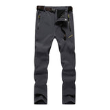 5XL New Men's Winter Hiking Pants Outoor Inside Fleece Thermal Pants Waterproof Windproof Trousers For Camping Trekking RM020
