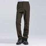 2017 New Brand Winter Men Women Pants Outdoor Sports Inside Fleece Trousers Hiking Camping Trekking Ski Waterproof  Pants VA033