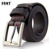 Men's belt luxury designer High quality Genuine leather man belt Pure cowhide skin strap male Formal men girdles & cummerbunds