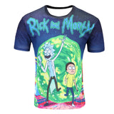 New Fashion Rick And Morty T-shirt Women/men Harajuku Tee Shirt Printed 3d Cartoon T Shirt Camisetas Funny Clothing
