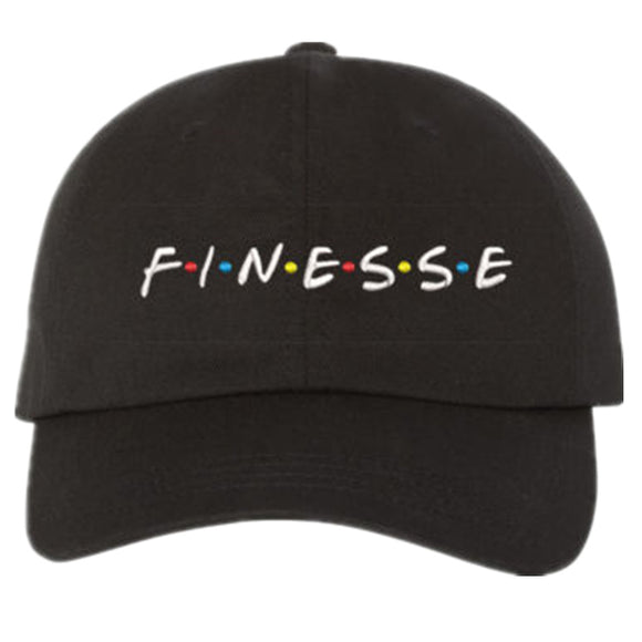 2017 new FINESSE Hat (slide buckle) fashion style vintage art dad cap seasons caps meme man women baseball cap