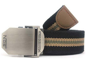 Men Canvas Belt Military Equipment Western Strap Men's Belts Luxury For Men