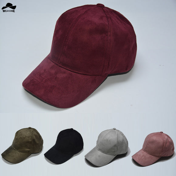 2017 Fashion Suede Snapback Baseball Cap New Gorras WearzoneTrucker cap WinterAutum HipHop Flat Hat Casquette Bone cap Men&Women