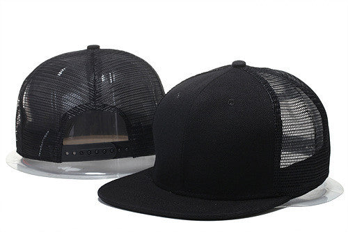 130dc9b7763 ... flat brim summer mesh baseball cap hip hop women men blank snapback hat  bone plain mamo ...