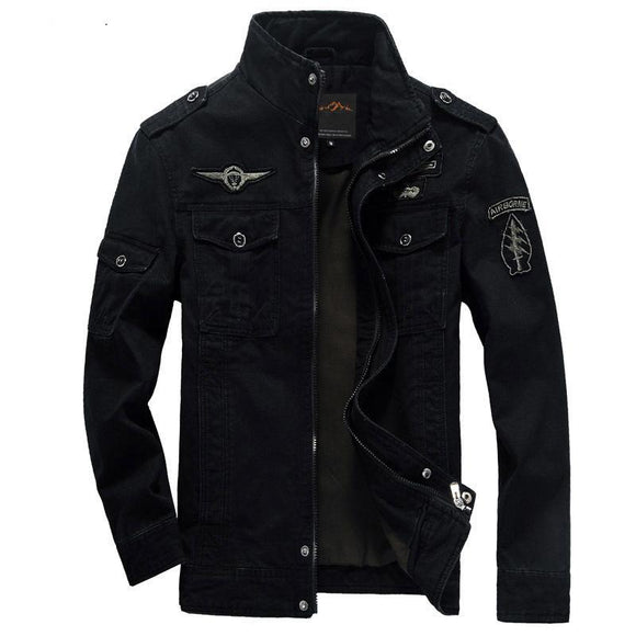 Mens Military jacket winter Cargo Army clothes