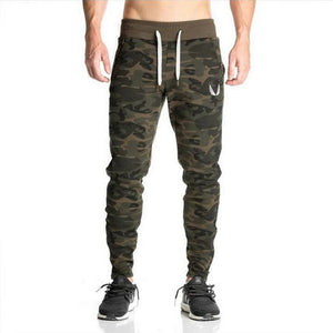 2017 High quality  Brand pants Fitness Casual Elastic Pants bodybuilding clothing casual camouflage sweatpants joggers pants