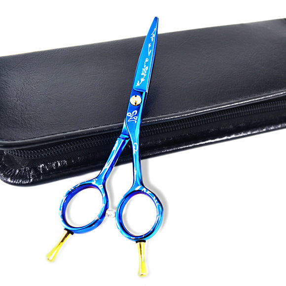 Scissors hair professional new arrival professional Hairdressing Scissors one piece hair cutting scissors and scissors case