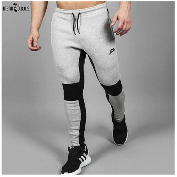 2016 Mens Pants Joggers Compression Pants Casual Gyms Pants Men Tracksuits Clothing Male Trousers 50