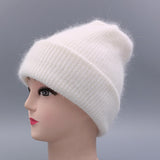 YWMQFUR Women hat for autumn winter knitted wool beanies fashion hats 2017 new arrival casual caps good quality female hat H70