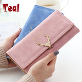 2017 Wallet Women purse High Capacity Fashion Long Wallet Female Long Design Purse Women Coin Purses Ladies More Color Clutch