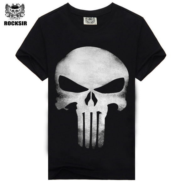Punisher Casual Short Sleeves T-shirt for Men
