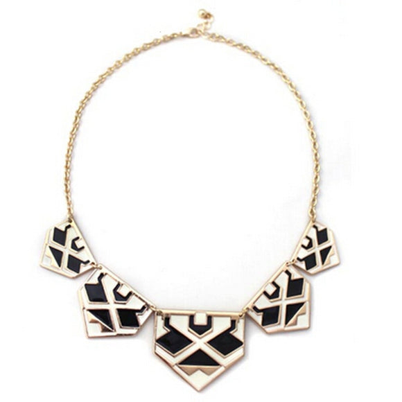 ATHENA 2018 Necklaces Collares Collier Brand Pendants Necklace Geometric Enamel Statement Fashion Charm Jewelry Wholesale