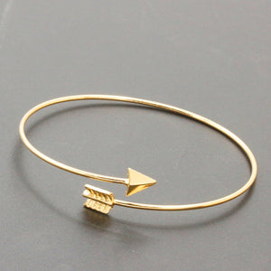 New Fashion Open Charm Cuff Bangles & Bracelets For Women Tiny Jewelry Triangle Heart Heartbeat Skeleton Leaf Arrow pulseras