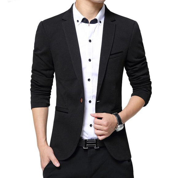 Mens blazer  Burst models high quality Suit Jacket Male blazer