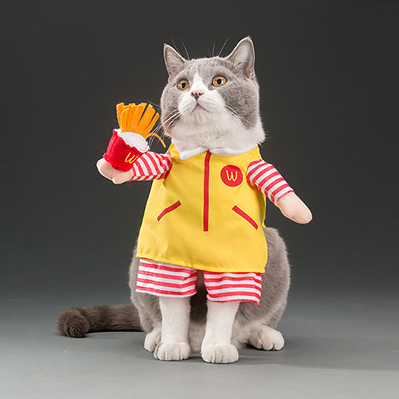 Pet Petrol McDonald's Costume - Funny Pet Costumes