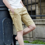 Summer Cotton Shorts Men Fashion Brand Boardshorts Breathable Male Casual Shorts Comfortable Plus Size Mens Short Bermuda Beach
