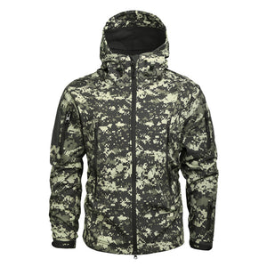 Finest Quality Sharkskin Soft Shell Jacket//Outdoor Military Tactical Jacket