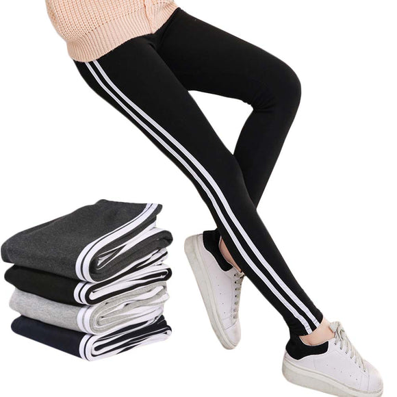 2017 Women Lady Activewear Black Legging Spring Summer light grey Pant Autumn Mid Waist Leggins Original Order