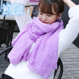 2017 Women Winter Scarf Pashmina Luxury Brand Solid Linen And Cotton Fashion Female Beach Multi-purpose High Quality Shawl