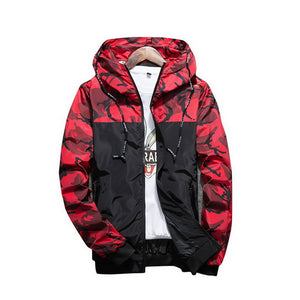 NIBESSER Brand Military Style Jacket Men Camouflage Patchwork Long Sleeve Jacket Streetwear Classic Fashion Jackets Plus Size5XL