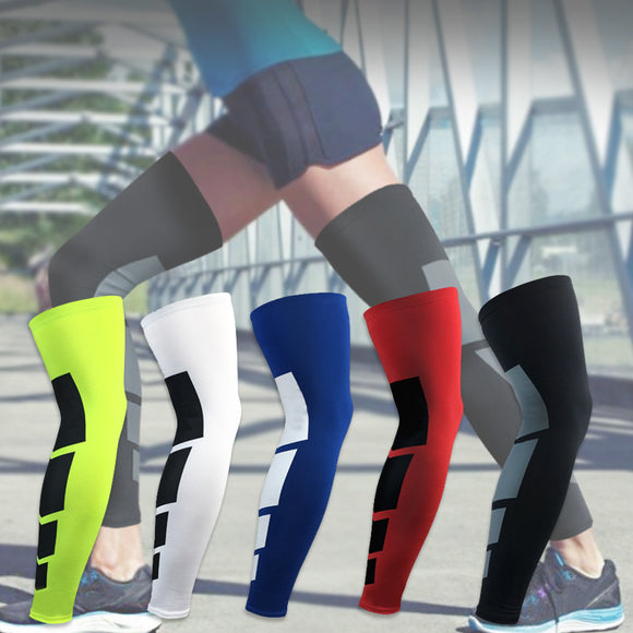 Windproof Sports Cycling Running Leg Warmers Women Men Bike Bicycle UV Protection Compression Socks