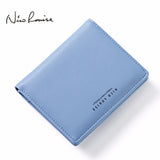 Women Lovely Leather Zipper Wallet Fashion Lady Portable Multifunction Small Solid Color Change Purse Hot Female Clutch Carteras