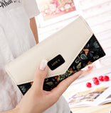 FLYING BIRDS wallet for women wallets brands purse dollar price printing designer purses card holder coin bag female LM4163fb